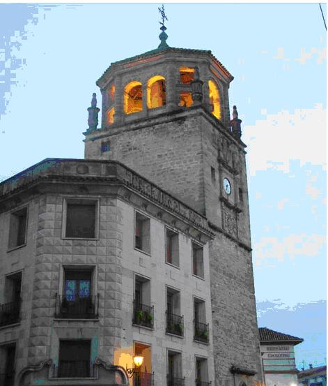 Torre Reloj - Plaza Andalucía