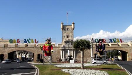Puertas de Tierra en los Carnavales de Cádiz - Foto: David Ibáñez Montañez
