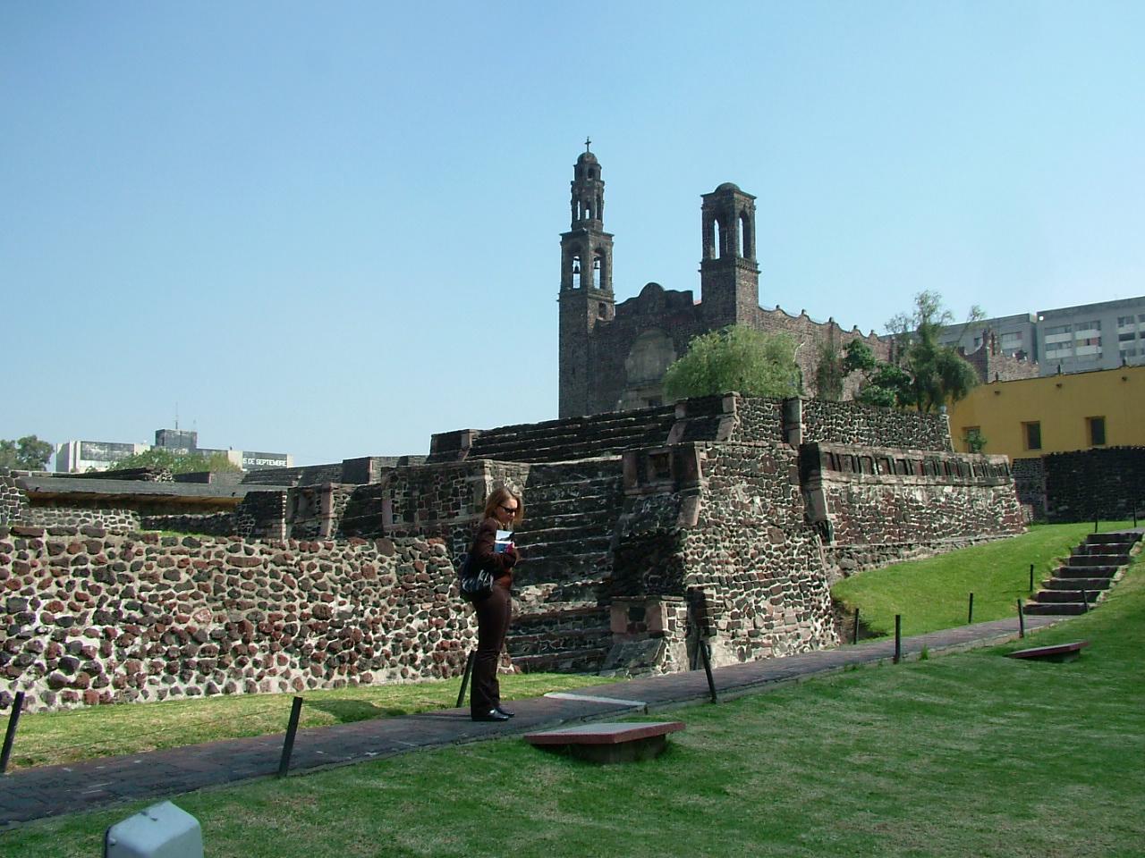 Plaza de las Tres Culturas o Tlatelolco