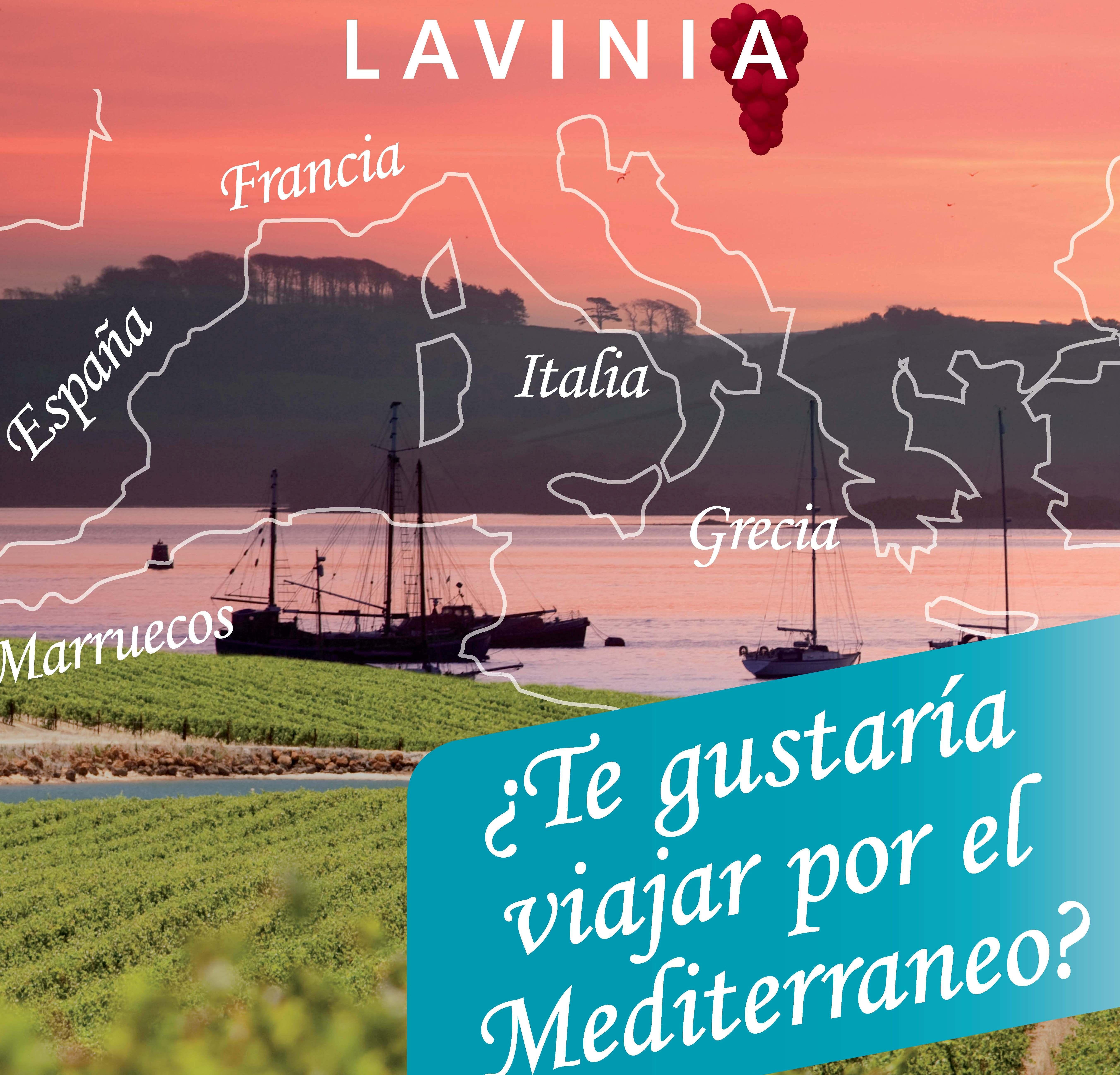 CARTEL Vinos por el Mediterráneo