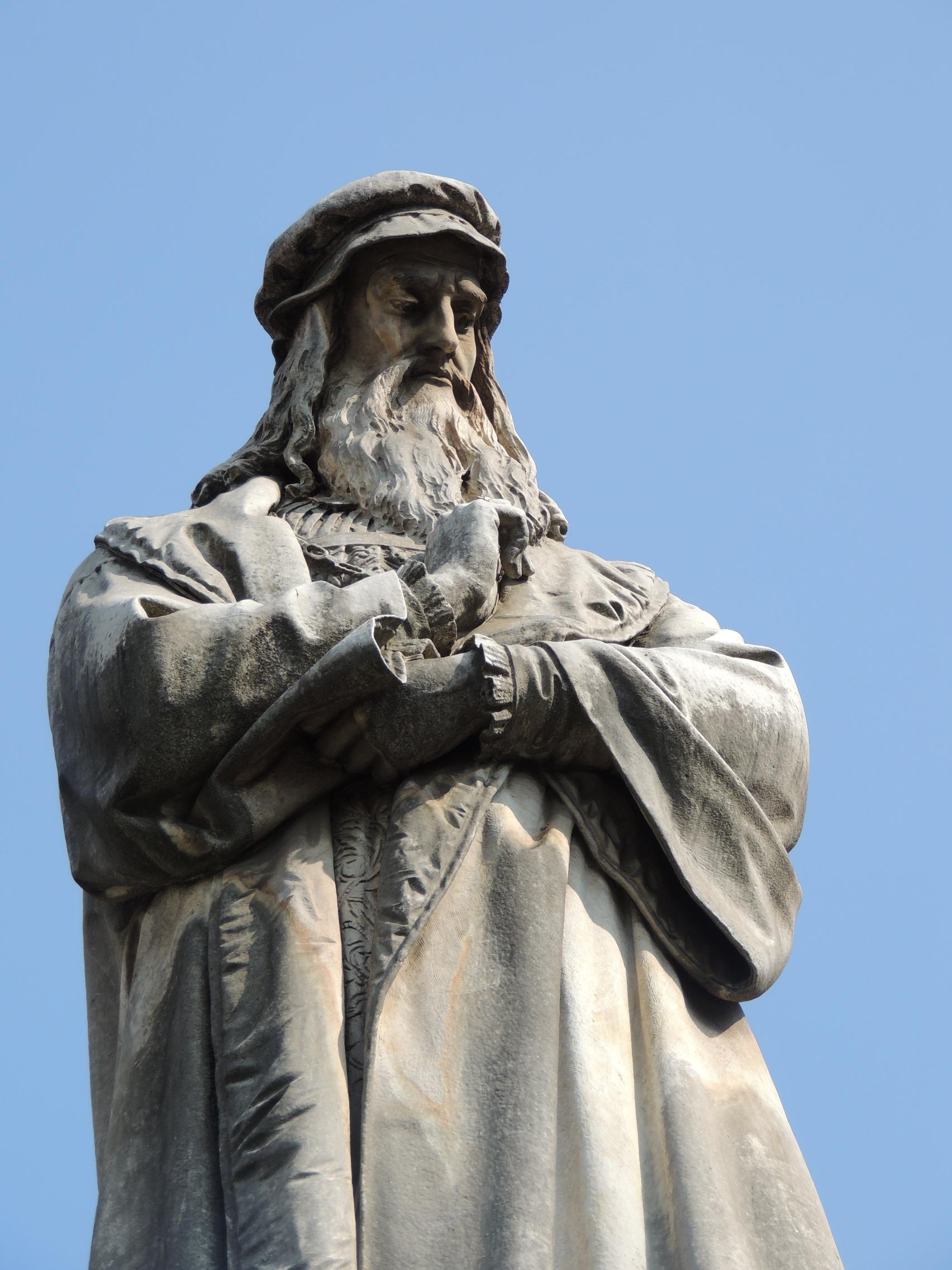 Leonardo Da Vinci, todo un símbolo en Milán