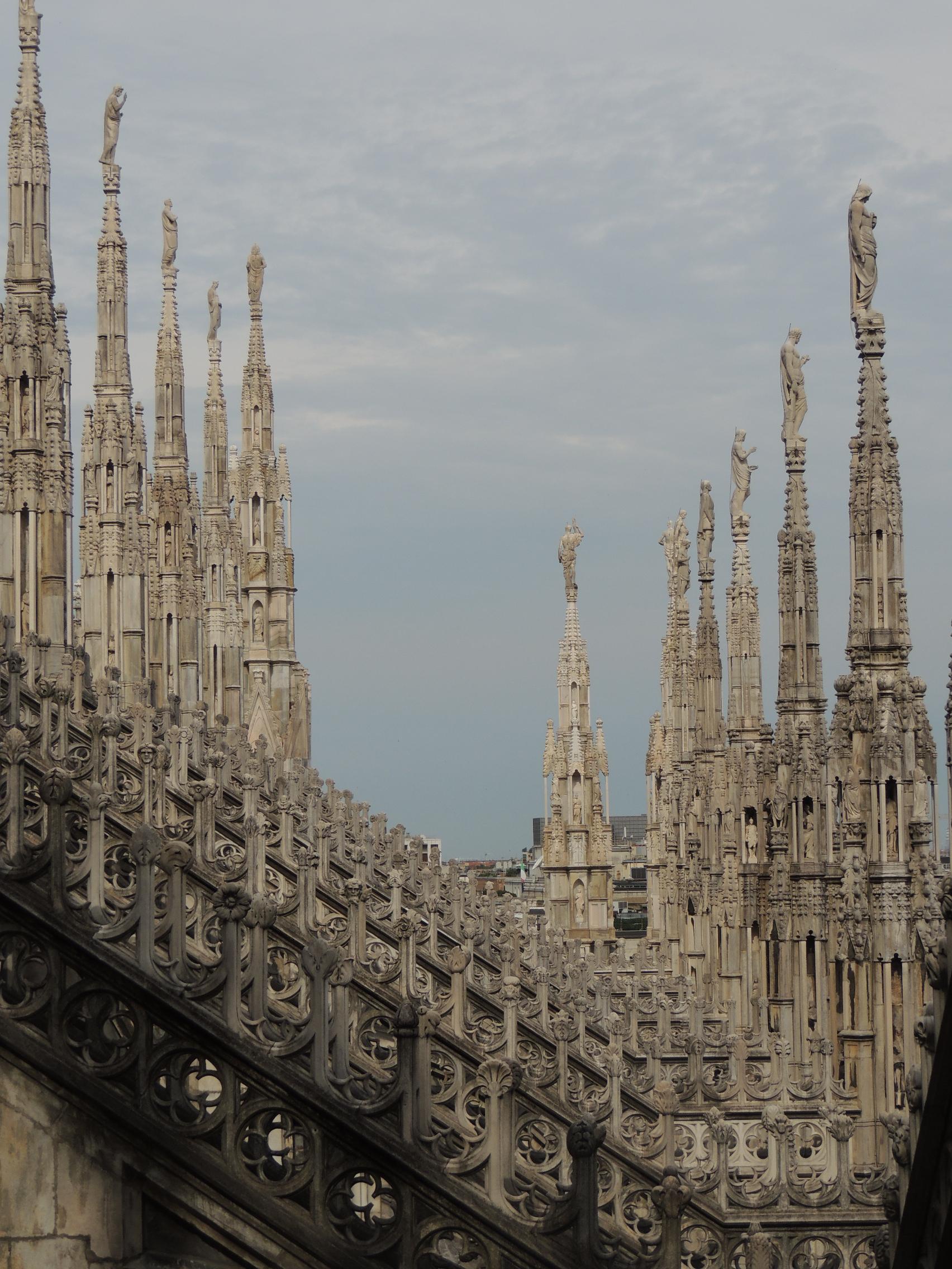 Por los tejados del Duomo