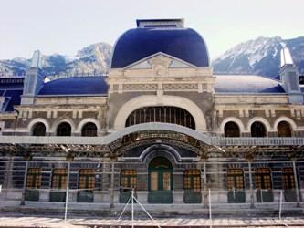 Imagen cedida por la oficina de turismo de Canfranc