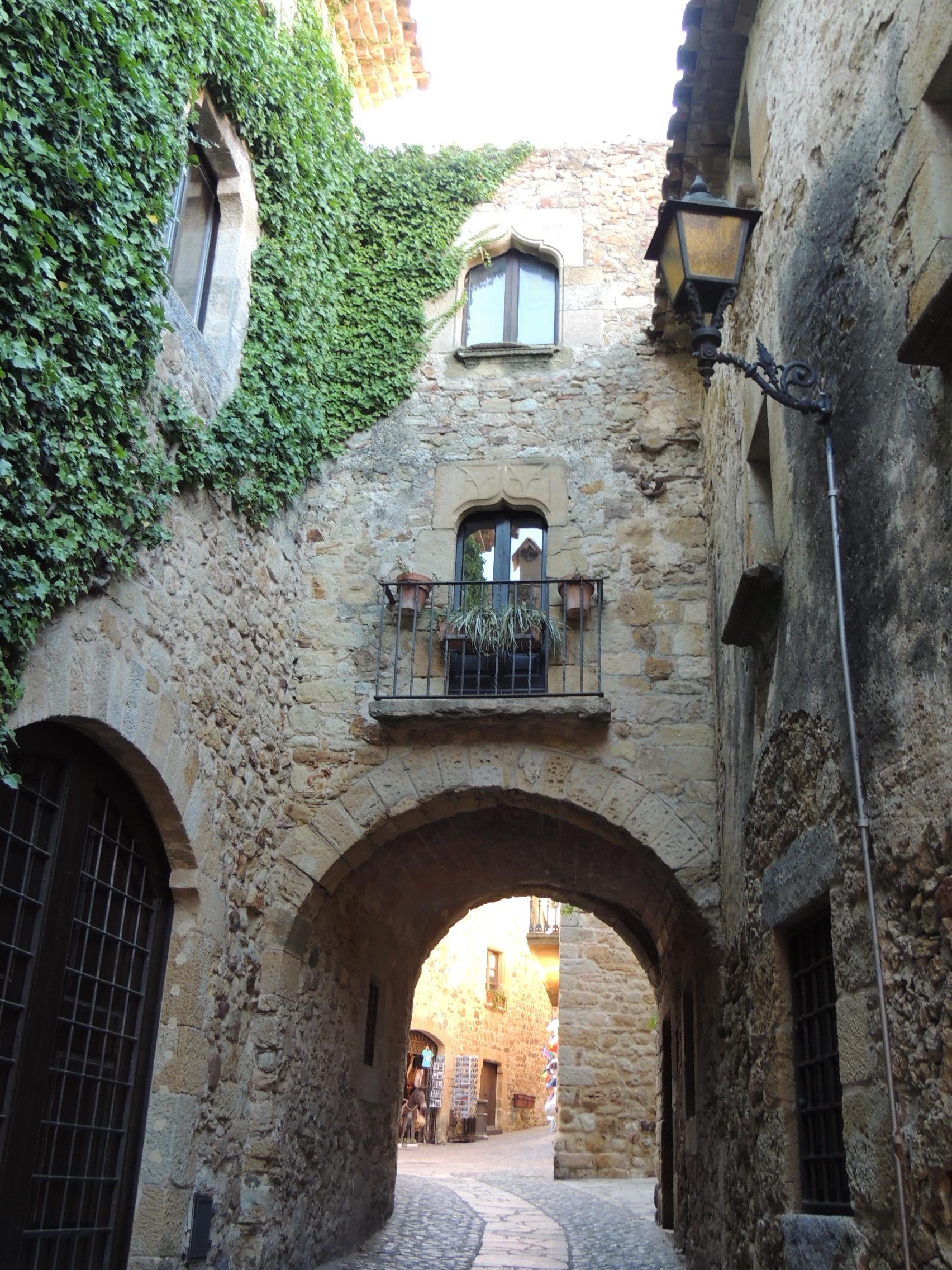 Calle gótica de Palls