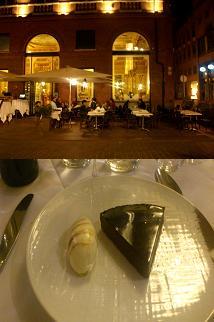 Le Bibent y su célebre tarta de chocolate