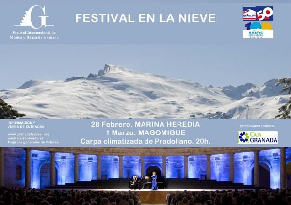Copia  Festival en la nieve - Cartel