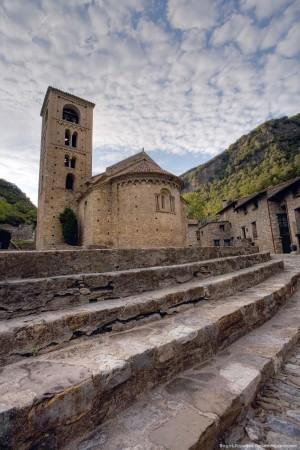 Iglesia románica de Sant Cristofol de Beget