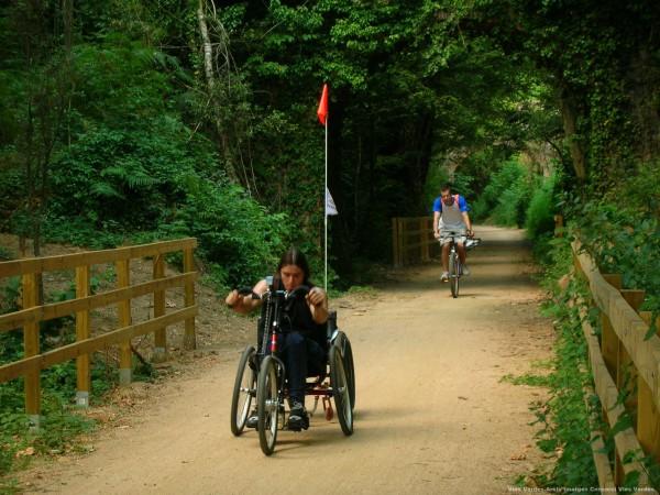 Vías Verdes (bicicleta adaptada) - La Garrotxa