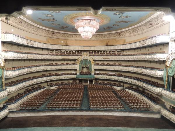 Maqueta del teatro Mariinsky