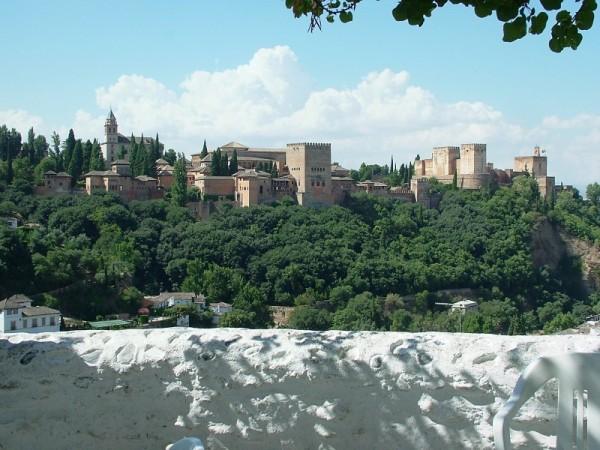 la Alhambra desde el Mirador Mario Maya
