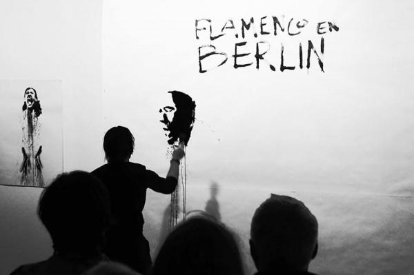 Patricio Hidalgo en el Instituto Cervantes de Berlín (Festival Flamenco en Berlín 2014)