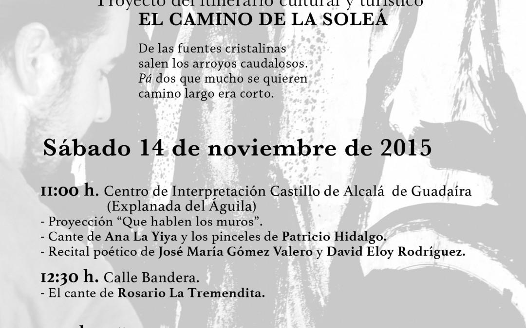 Que hablen los muros. El arte de Patricio Hidalgo para el itinerario turístico y cultural El Camino de la Soleá (Alcalá de Guadaíra)