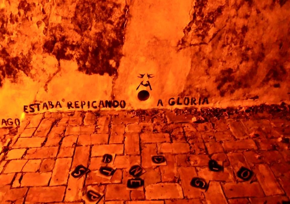 El arte de Patricio Hidalgo da voz a los muros de Alcalá de Guadaíra