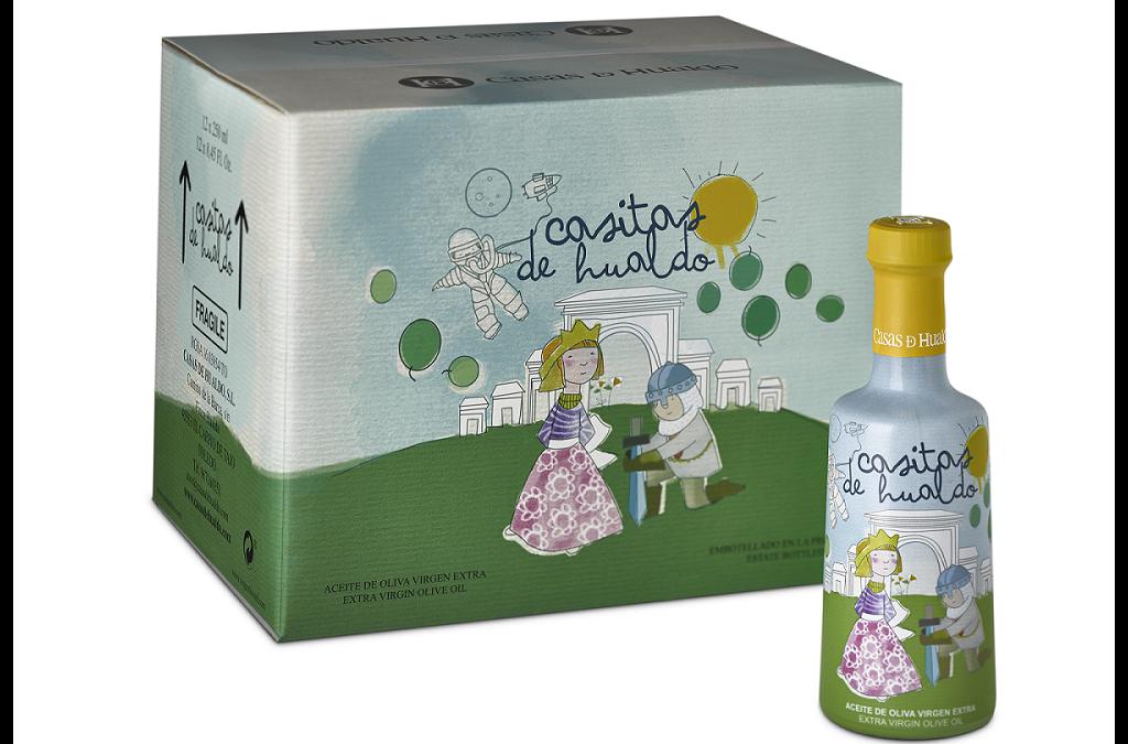 Casitas de Hualdo, un aceite de oliva pensado para los más pequeños