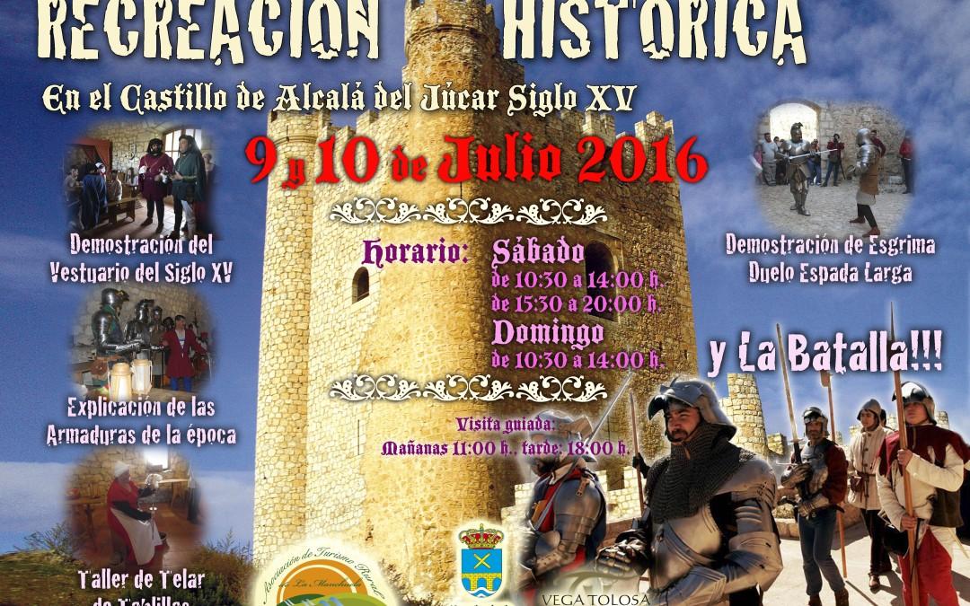 III Recreación Histórica del siglo XV en el castillo de Alcalá del Júcar