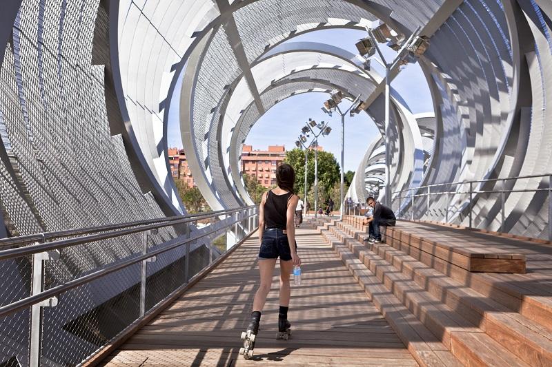 Interior del puente de Parrault © NoPhoto