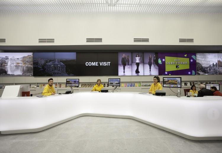 Centro de Informacion Turistica en Plaza Mayor