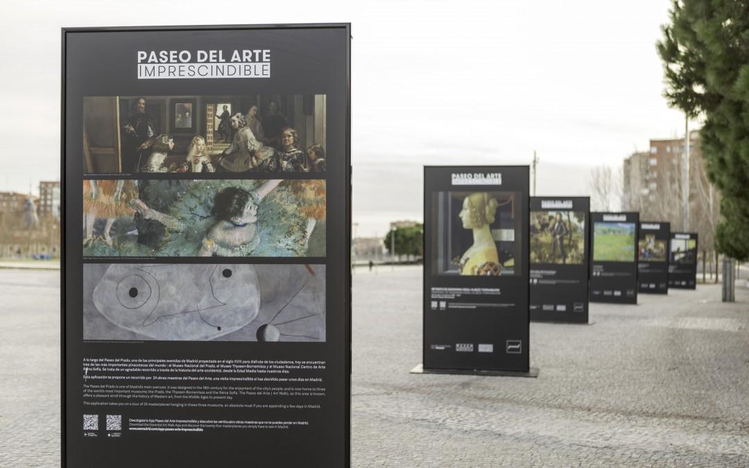 La Exposición Paseo del Arte se traslada a Madrid Río hasta el 15 de febrero
