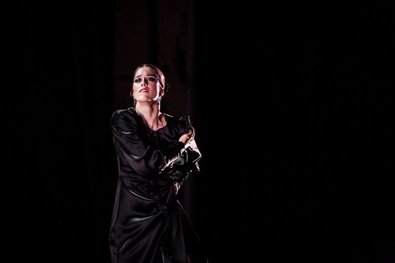 Patricia Guerrero, foto Oscar Romero, Archivo Bienal