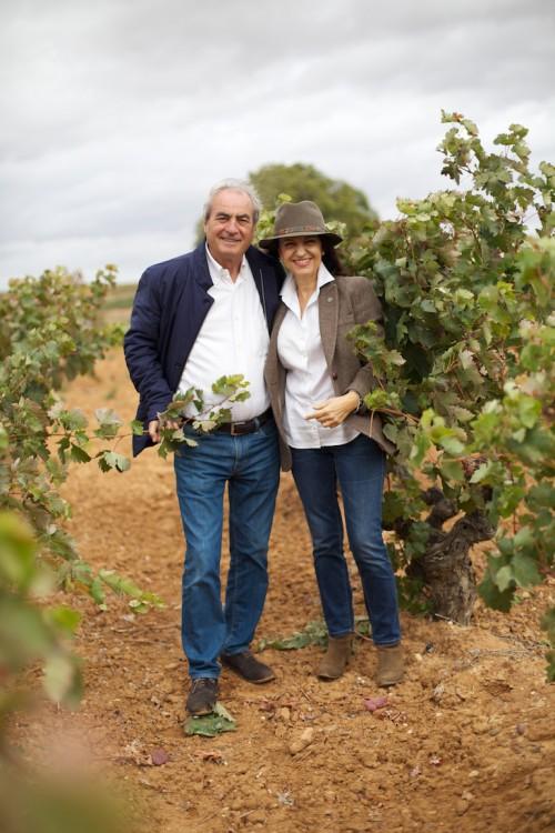 Paco Rodero y Conchita Villa