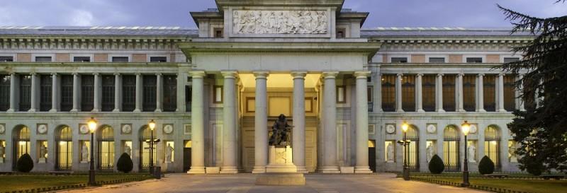 Estatua de Vel‡zquez. Paseo del Prado, Madrid.